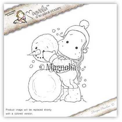 Magnolia EZ Mount Stamp AH16 - Me And My Snowman
