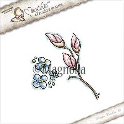 Magnolia EZ Mount Stamp ST17 - Magnolia Kit