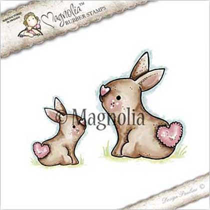 Magnolia EZ Mount Stamp ST17 - Sweet Rabbits
