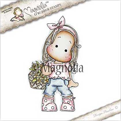 Magnolia EZ Mount Stamp ST17 - Tilda with Dotted Boots