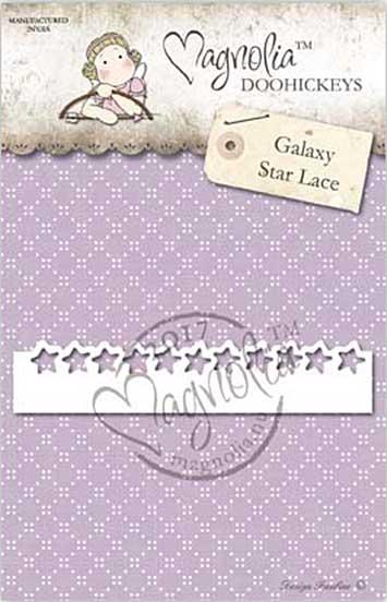 PRE: Magnolia DooHickey Cutting Die GX17 - Galaxy Star Lace