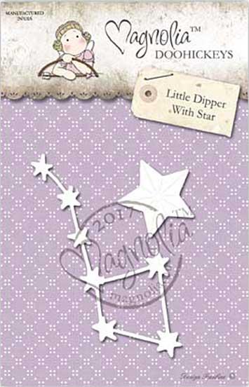 PRE: Magnolia DooHickey Cutting Die GX17 - Little Dipper With Star