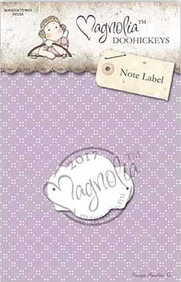 PRE: Magnolia DooHickey Cutting Die JO17 - Note Label