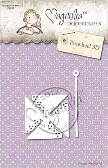 SO: Magnolia DooHickey Cutting Die NA17 - Pinwheel 3D