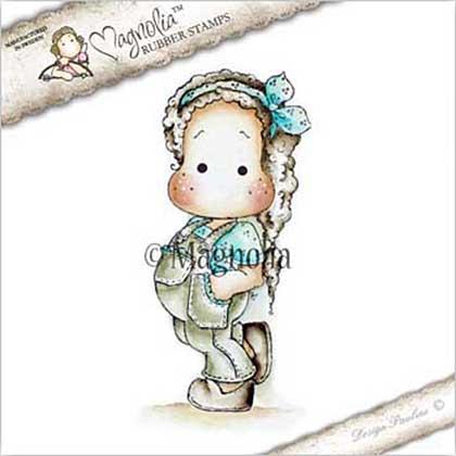 Magnolia EZ Mount Stamp DE17 - Jeans Tilda