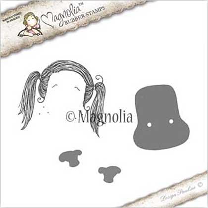 PRE: Magnolia EZ Mount Stamp JO17 - Journaling Tilda