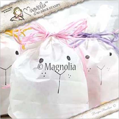Magnolia EZ Mount Stamp SU17 - Birthday Face