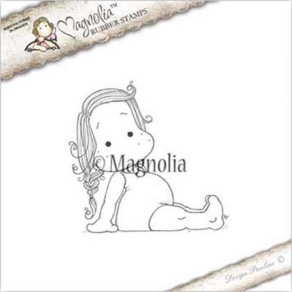 PRE: Magnolia EZ Mount Stamp SU17 - Lounging Tilda