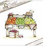 PRE: Magnolia EZ Mount Stamp FM17 - Fruit Stand