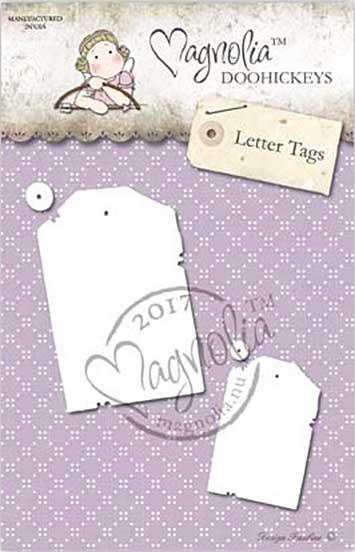 PRE: Magnolia Doohickey - BC17 Letter Tags