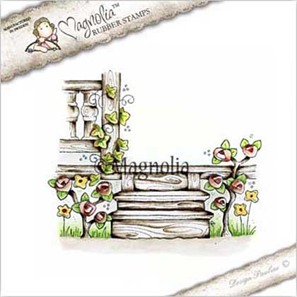 Magnolia EZ Mount Stamp CG17 - Grandpas Porch