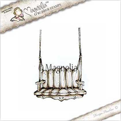 Magnolia EZ Mount Stamp CG17 - Happy Swing