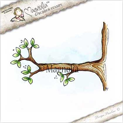 Magnolia EZ Mount Stamp CG17 - Swing Branch