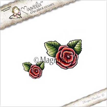PRE: Magnolia EZ Mount Stamp YB17 - Roses Kit