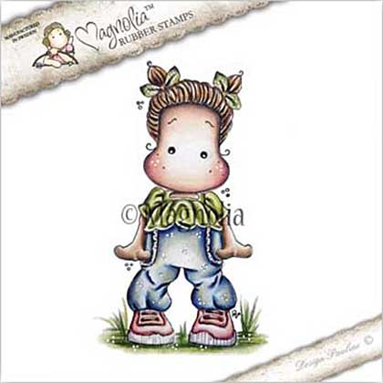 PRE: Magnolia EZ Mount Stamp YB17 - Sweet Pants Tilda