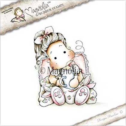Magnolia EZ Mount Stamp - GW17 Tilda With Bunny Slippers