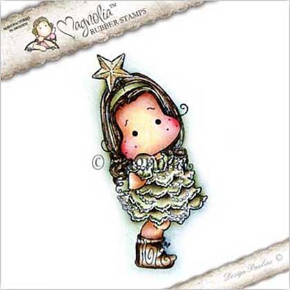 Magnolia EZ Mount Stamp CP17 - Tilda with Star