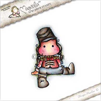 Magnolia EZ Mount Stamp CP17 - Toy Soldier Tilda