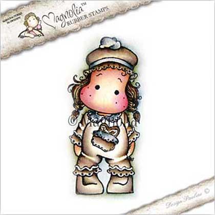 Magnolia EZ Mount Stamp CP17 - Gingerbread Tilda