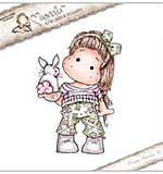 Magnolia EZ Mount Stamp SC18 - Tilda With Little Bunny