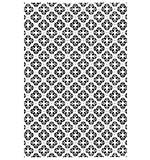 Embossing Folder A4 - Quilted Flower