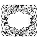 Sue Wilson 15A Stamp - Blossom Frame