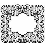 Sue Wilson 15A Stamp - Swirl Toile