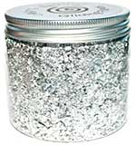 Cosmic Shimmer Gilding Flakes, Silver Moon