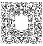 Creative Expressions Baroque Frame Pre-Cut Stamp