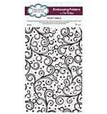 Embossing Folder A4 - Large Frosty Swirls by Sue Wilson