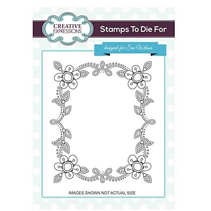 Sue Wilson Stamps to Die for - Tessa\'s Oakham Frame