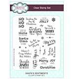 Clear Stamp Sets - Santa Sentiments