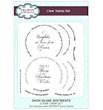 Clear Stamp Sets - Snow Globe Sentiments