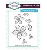 Stamps To Die For - Shaded Poinsettia Additions