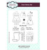 Mr and Mrs Claus A5 Clear Stamp Set