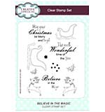 Believe in the Magic A5 Clear Stamp Set