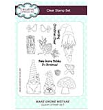 Make Gnome Mistake A5 Clear Stamp Set