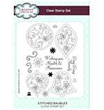Stitched Baubles A5 Clear Stamp Set