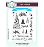 Magical Christmas A5 Clear Stamp Set