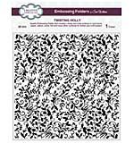 Emboss Folder 8 x 8 Twisting Holly
