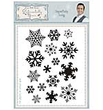 Snowflake Icons A6 Clear Stamp Set