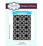 Ivy Lace A6 Background Stamp