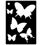 Mini Stencil - Butterfly Splash