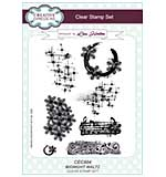 Midnight Waltz - Clear Stamp Set