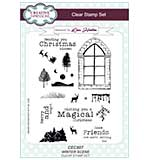 Winter Scene Clear - Stamp Set