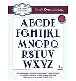 Sue Wilson Cutting Die - Expressions - Art Deco Alphabet - Upper Case