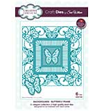SO: Sue Wilson Cutting Die - Background Collection - Butterfly Frame Die