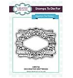 Sue Wilson Stamps to Die for - Decorative Drifttwood - Pre Cut Stamp