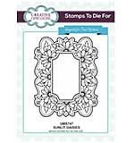 Sue Wilson Stamps to Die for - Sunlit Daisies - Pre Cut Stamp