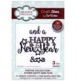 Sue Wilson - Festive Collection - Starry Happy New Year